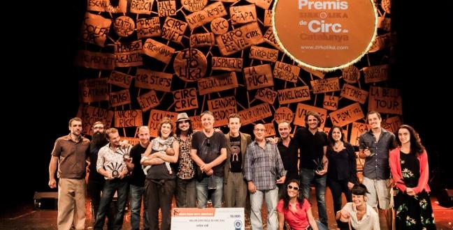 Baró d'Evel Cirk guanya el Premi Zirkòlika al millor espectacle de circ amb 'Bèsties'