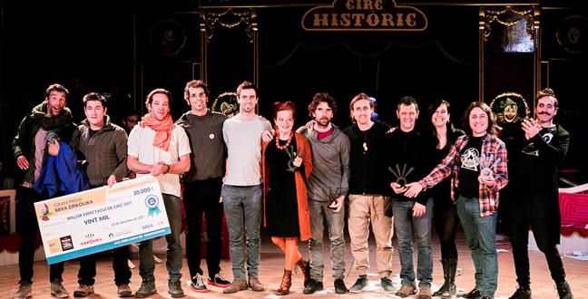 Pepa Plana, Quim Girón, Emiliano Sánchez Alessi, Solfasirc i l'escola Saltimbanqui, entre els guanyadors dels VIII Premis Zirkòlika de Circ de Catalunya
