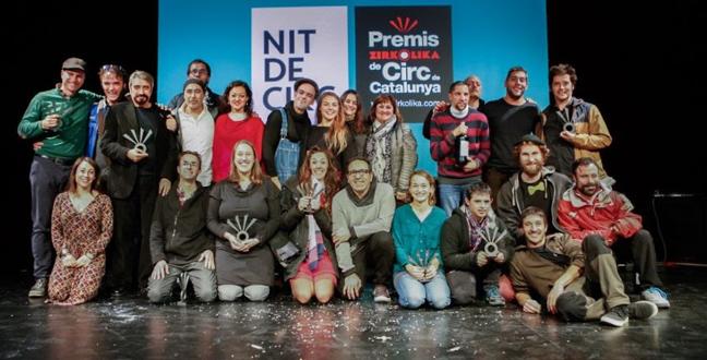 Mumusic Circus, Cia. Passabarret i l'espectacle 'Mur', entre els guanyadors dels IX Premis Zirkòlika de Circ de Catalunya
