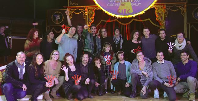 Cia. Pepa Plana, Ino Kollektiv i Slow Olou, entre els guanyadors dels X Premis Zirkòlika de Circ de Catalunya