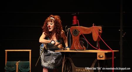 Pepa Plana en el nuevo proyecto itinerante del Cirque du Soleil para el 2012