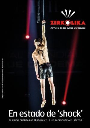 El circo en estado de shock, tema de portada del nuevo número de Zirkólika