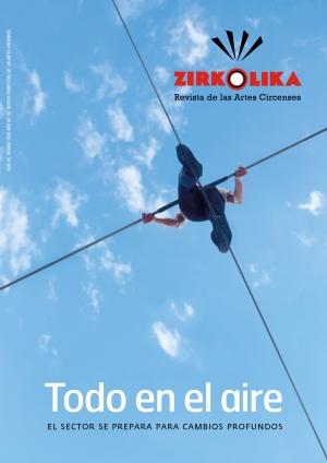 Los efectos del coronavirus en el circo, tema de portada del número 65 de la revista Zirkólika