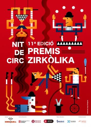 XI Nit de Circ, Premis Zirkòlika de Circ de Catalunya – 23 de Diciembre – Mercat de les Flors (Barcelona)