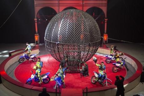 Gran Circ de Nadal de Girona resiste a la pandemia