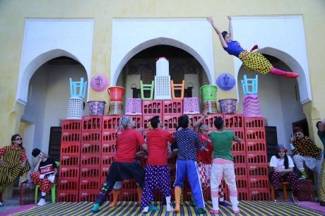 Grec Festival de Barcelona: FIQ (¡DESPIÉRTATE!) – Groupe Acrobatique de Tanger, 9 y 10 de julio, Teatro Grec (Barcelona)
