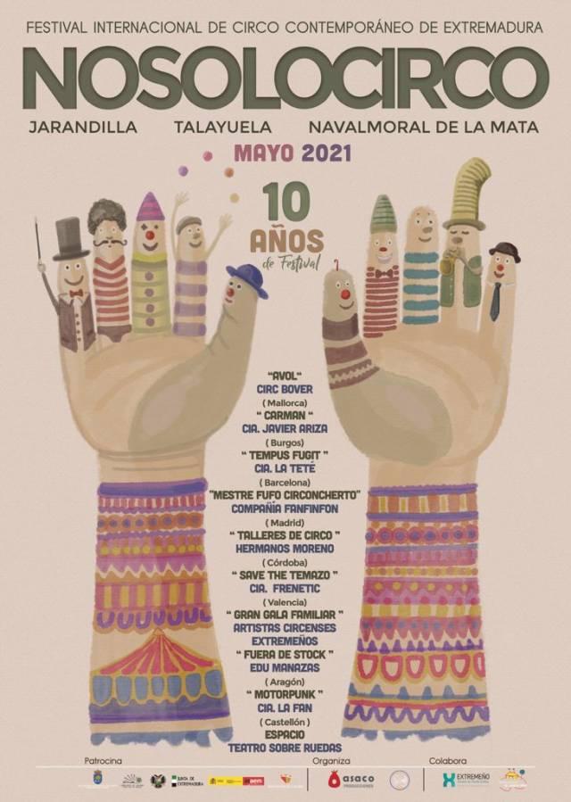 El Festival de Circo Contemporáneo  Nosolocirco cumple diez años