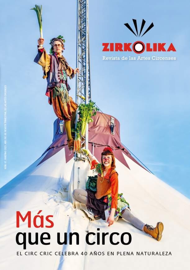 Los 40 años del Circ Cric, tema de portada del nuevo número de la revista ZIRKÓLIKA